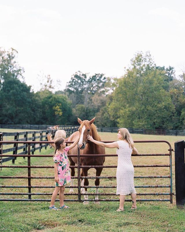 Looking at this photo, the only thing I can think is: Get me back to a Kentucky horse farm wedding ASAP!  Who else is a big fan of intimate, private estate weddings? 🙋🏻♀️