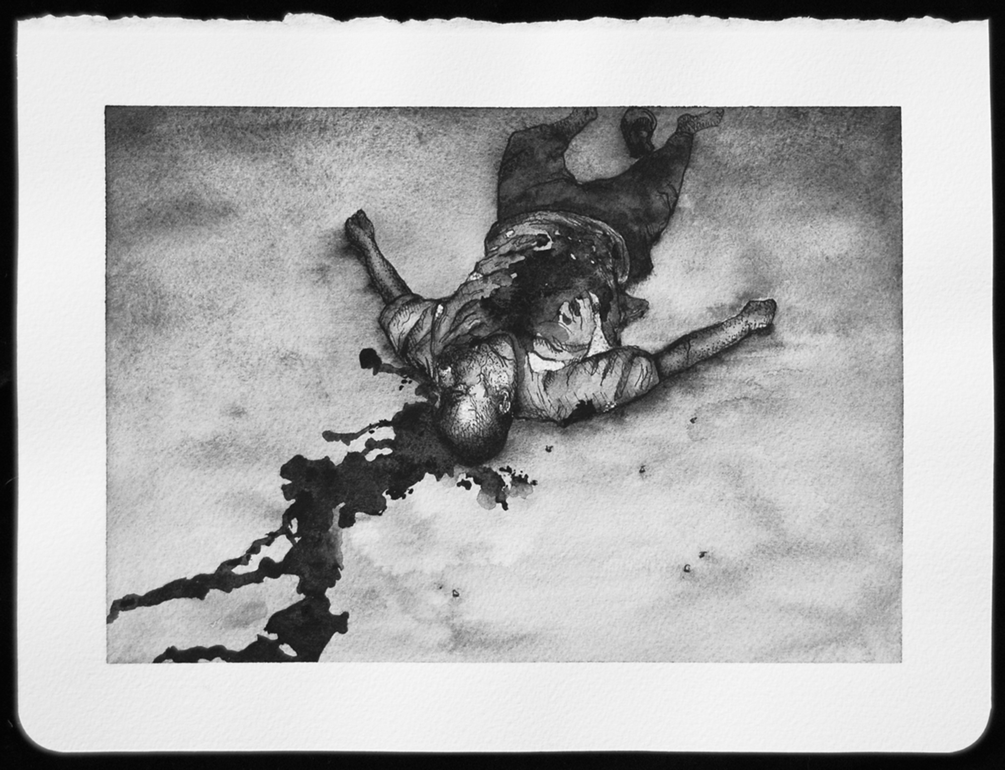 DEATH_044.jpg,2010  |  8.25 x 11 inches  |  archival ink and gouache on paper