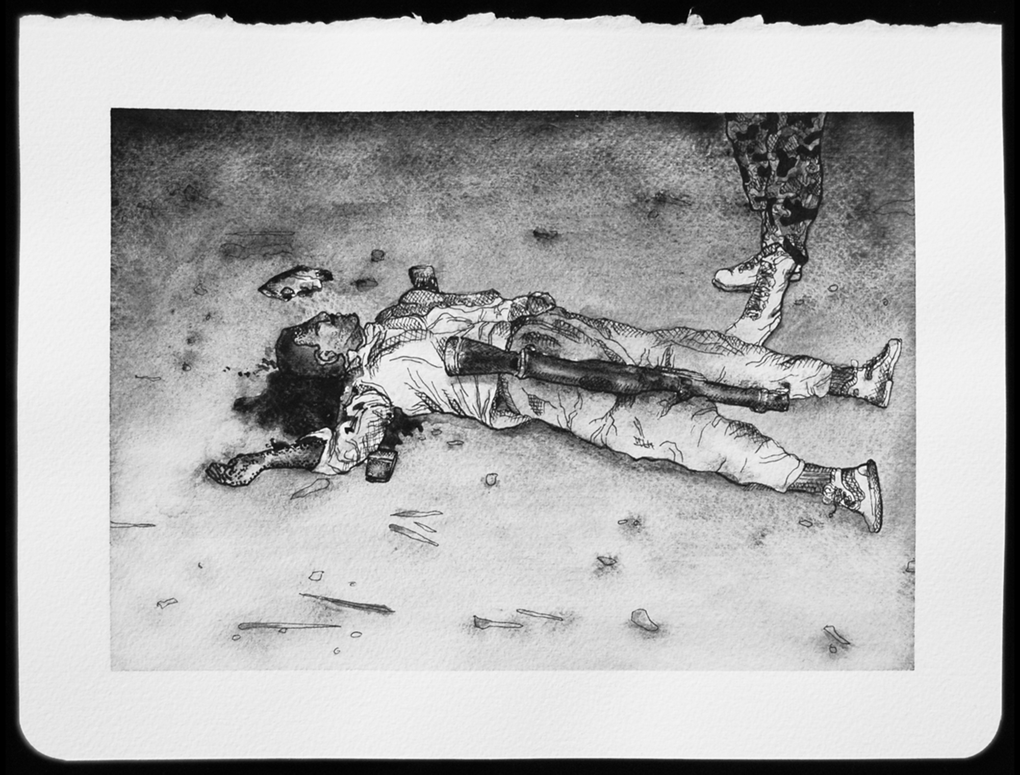 DEATH_089.jpg,2010  |  8.25 x 11 inches  |  archival ink and gouache on paper