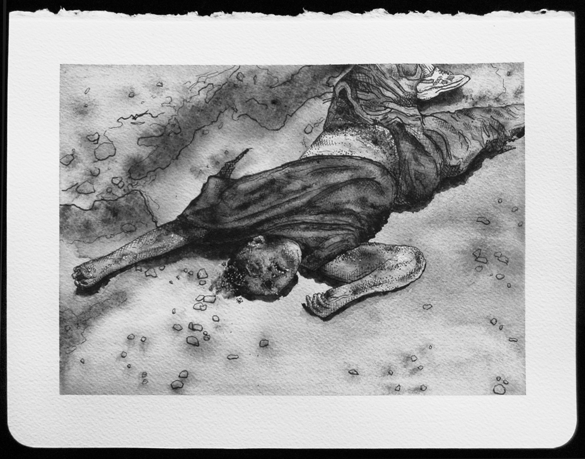 DEATH_117.jpg,2010  |  8.25 x 11 inches  |  archival ink and gouache on paper