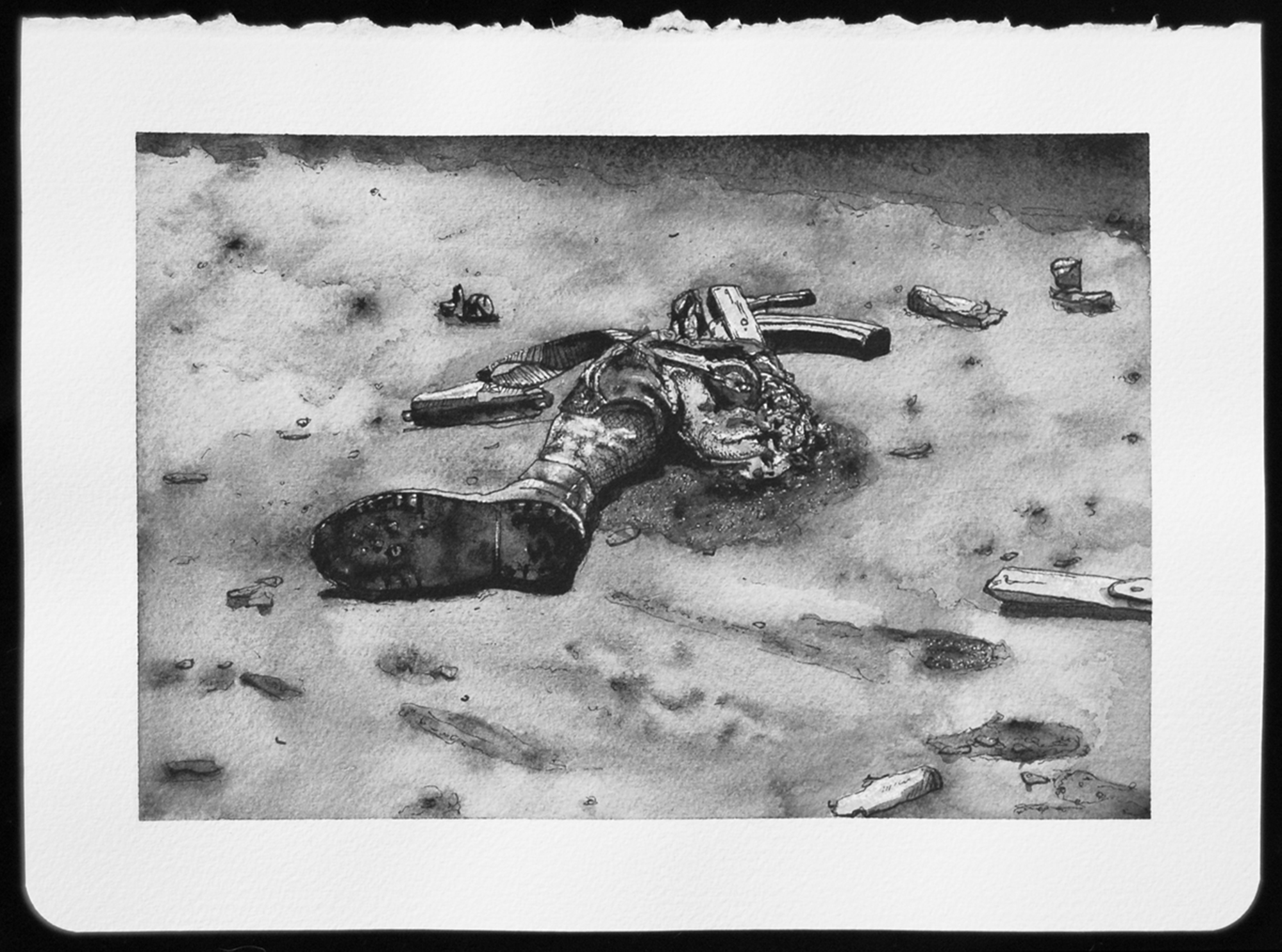 DEATH_133.jpg,2010  |  8.25 x 11 inches  |  archival ink and gouache on paper