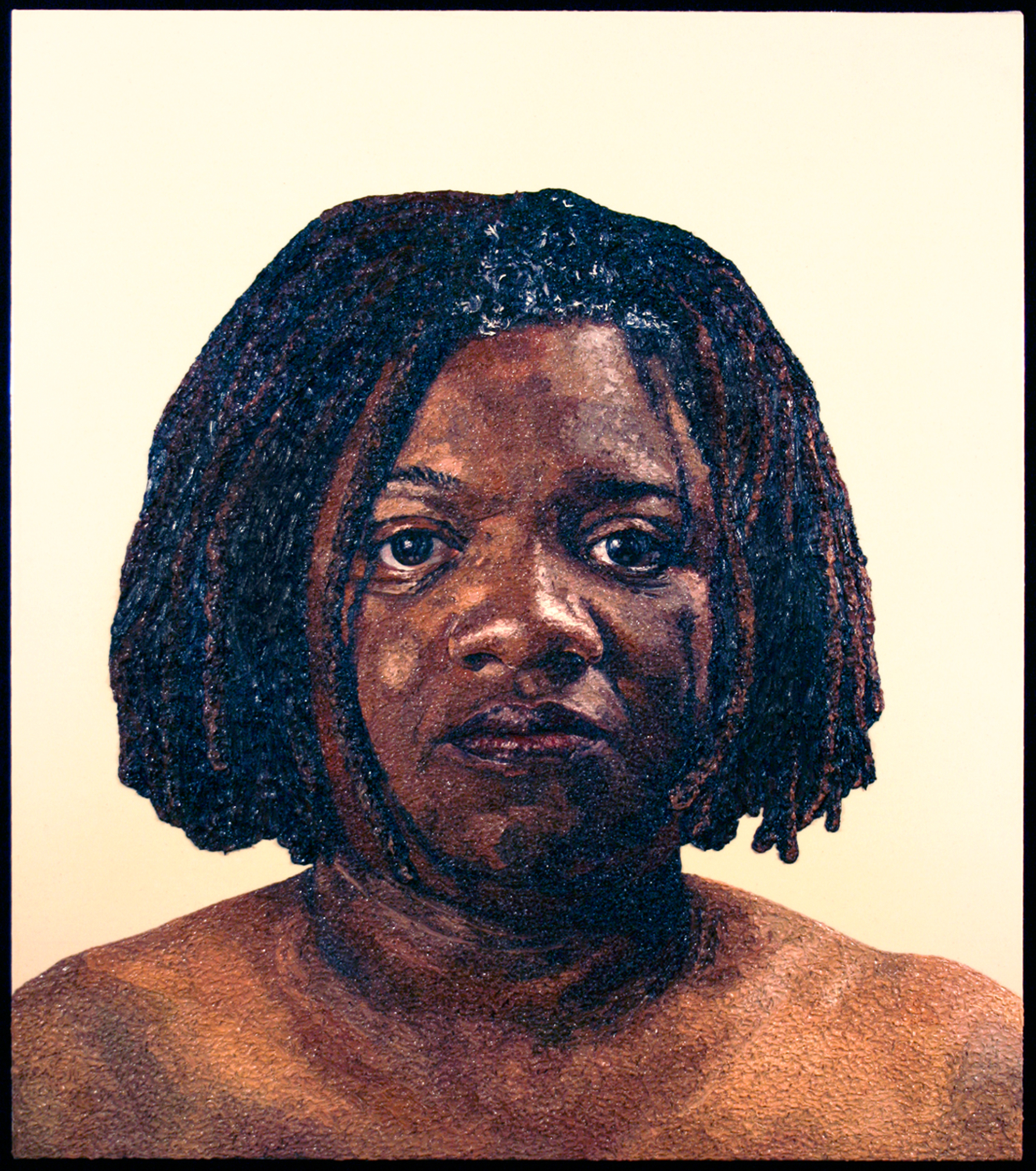 Beverly, 2008  |  48 x 42 inches  |  oil and urethane on canvas