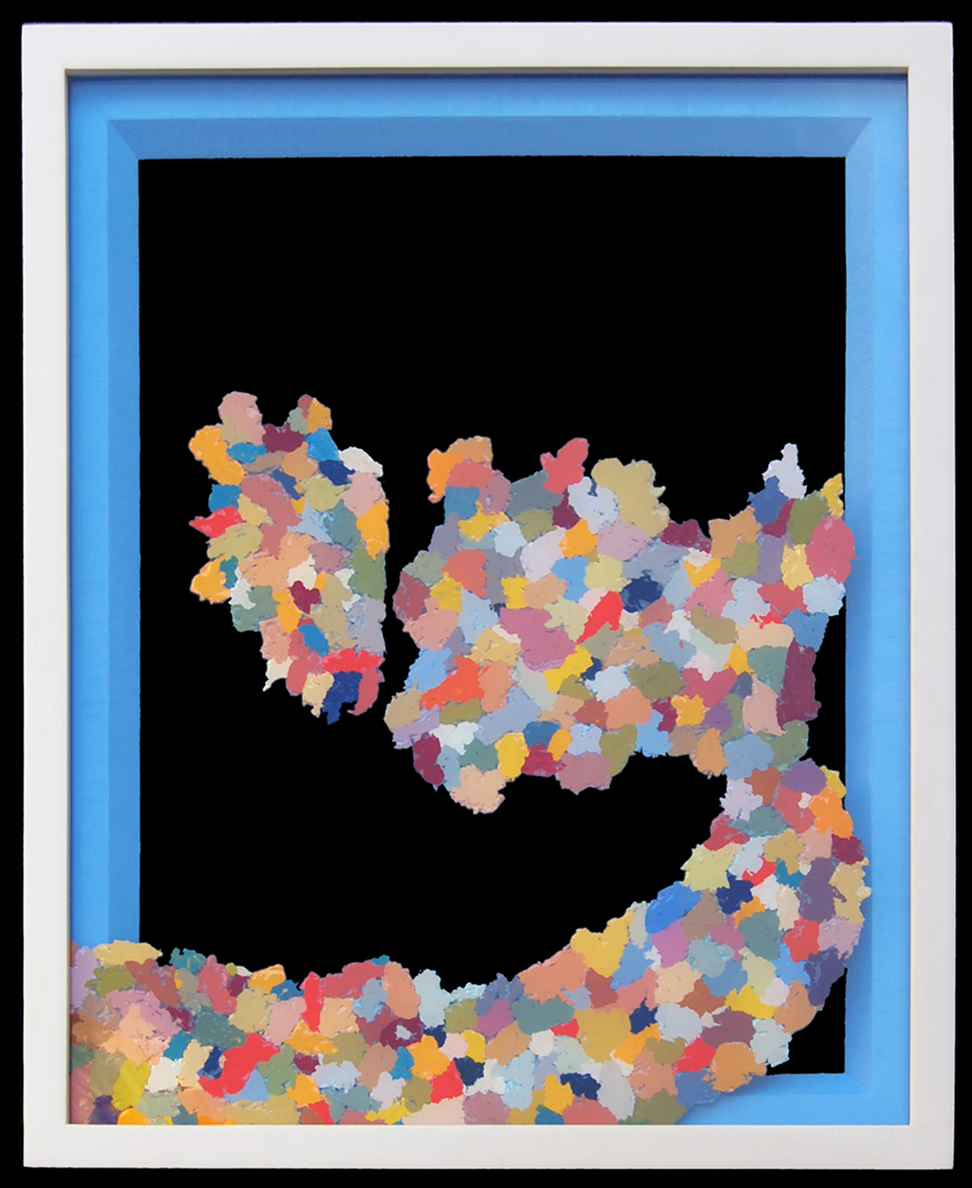 AP V (9/11), 2008  |   26 x 21 inches  |  oil on wood and plexiglas