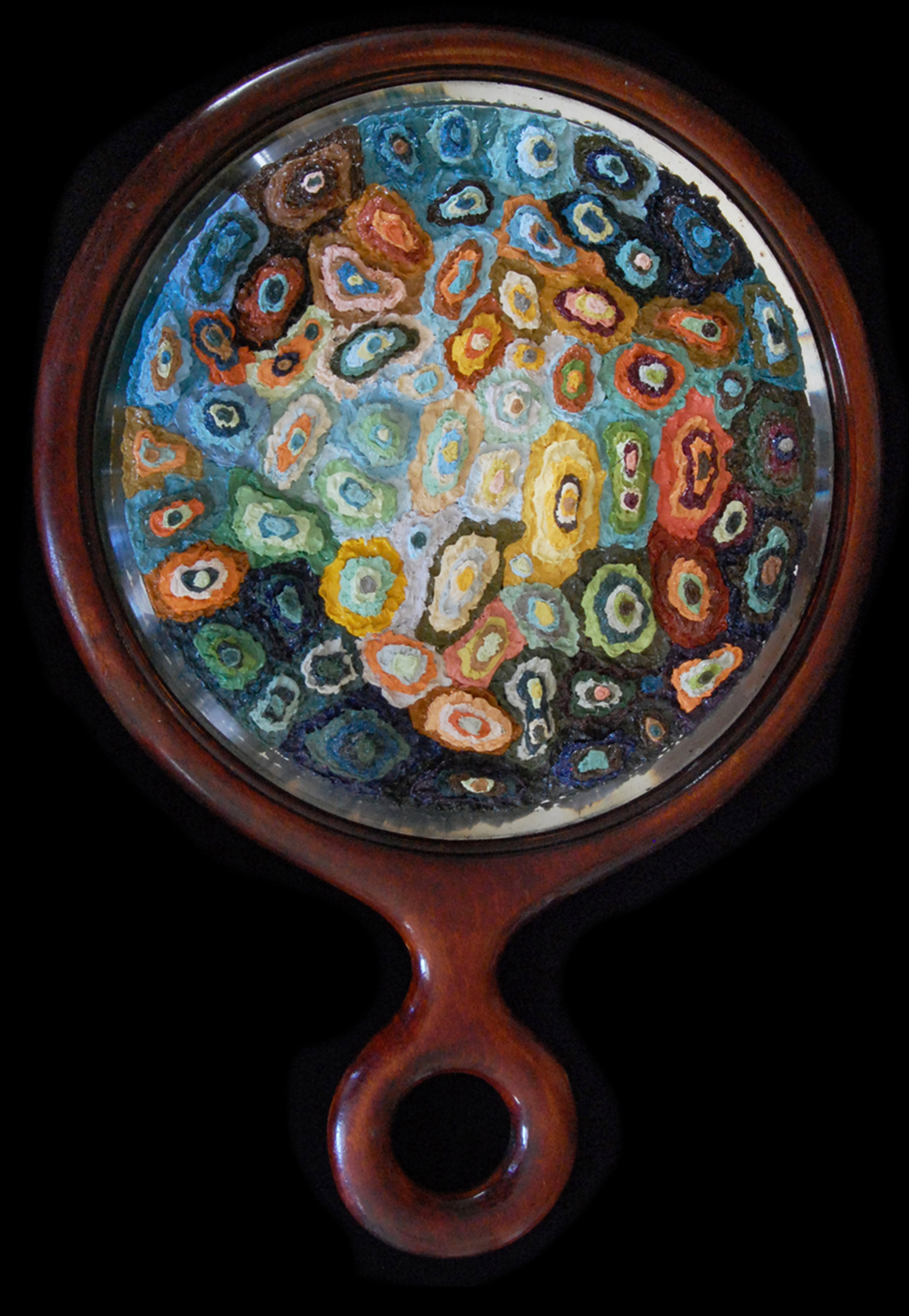 AP XXI (The Birth of Venus), 2012  |  10.75 x 7.5 x 1 inches  |  oil on glass and wood