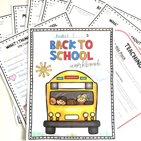 Back to School essential skills workbook by Poet Prints Teaching