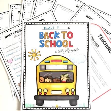 Back to School essential skills workbook by Poet Prints Teaching