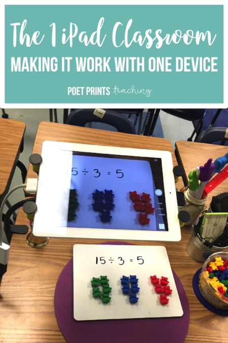The One Ipad Classroom