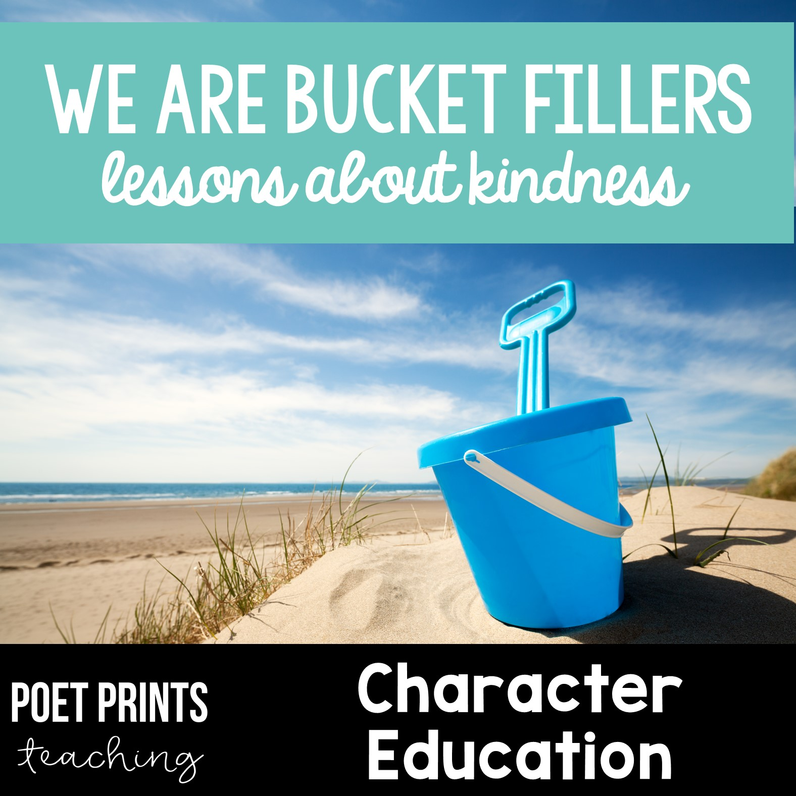 Bucket Filling for Elementary by Poet Prints Teaching
