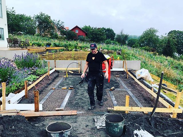 Förberedelse för växthus pågår 🤩