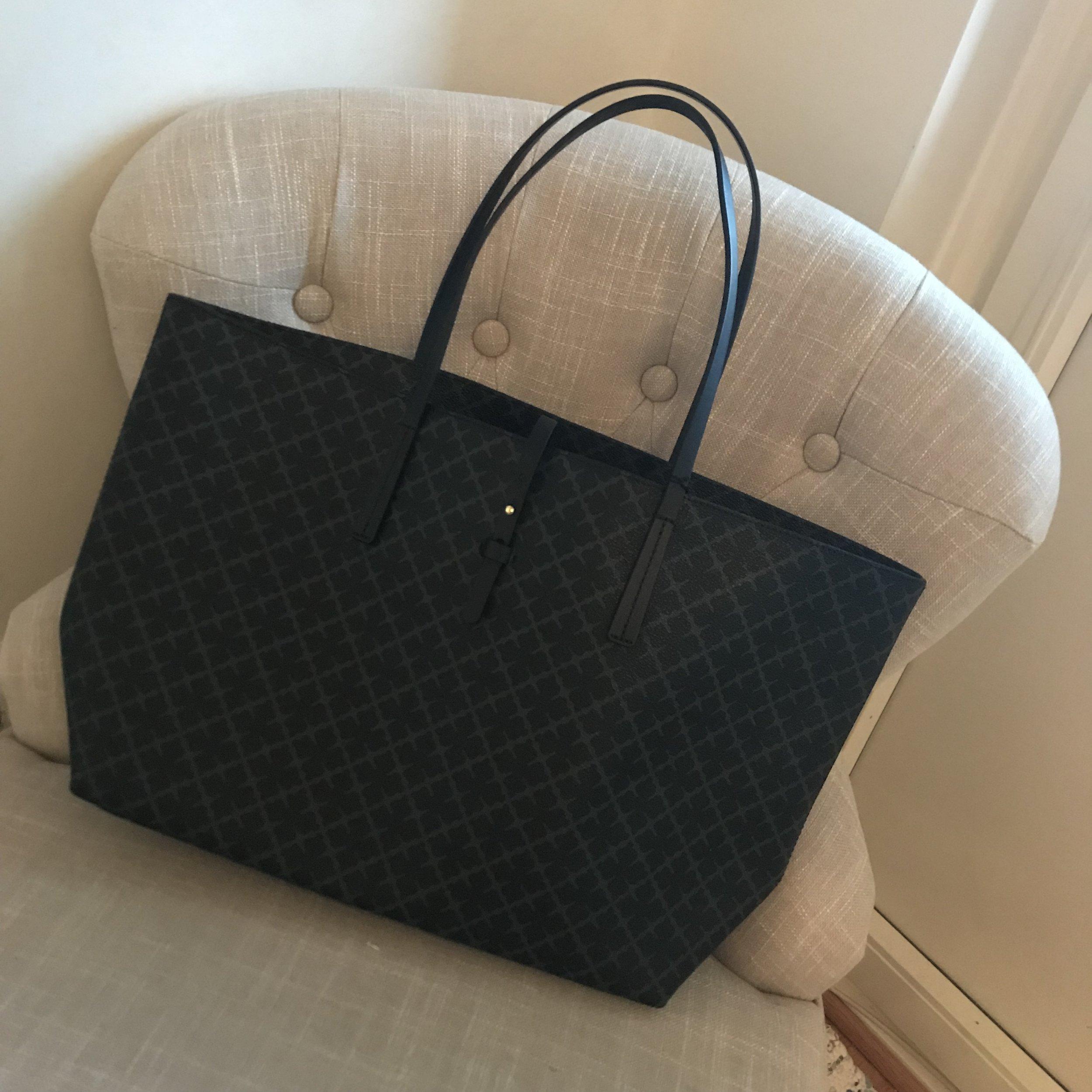 En oerhört fin By Malene Birger väska, som till och med matchar min plånbok! Snacka om glad tjej.  💃