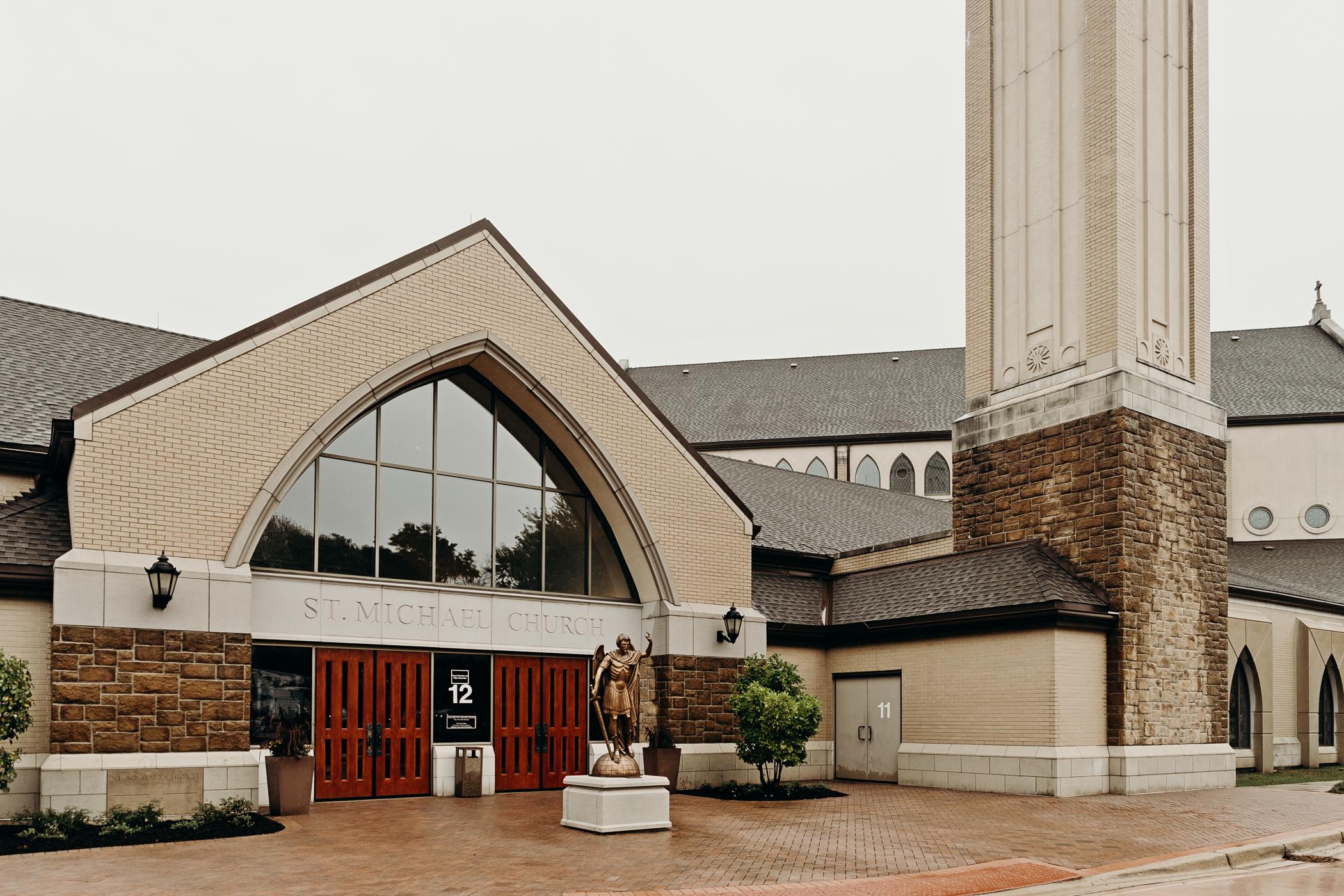 St. Michael Catholic Church in Wheaton, IL