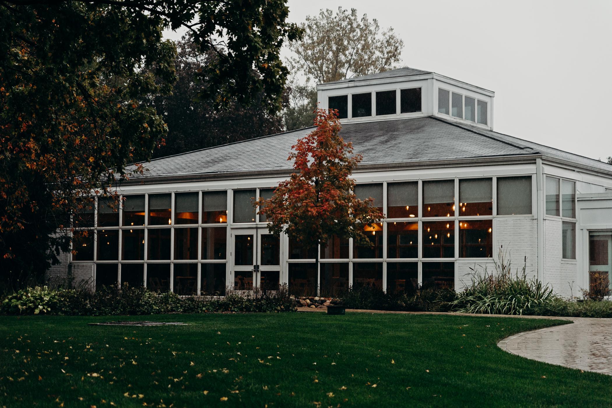 Reception hall at Danada House in Wheaton, IL