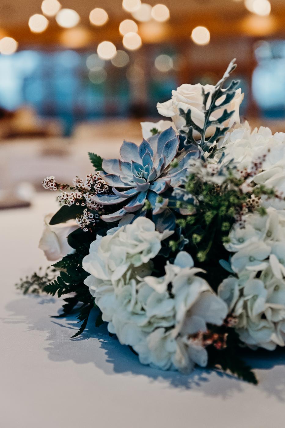 Wedding centerpiece bouquet