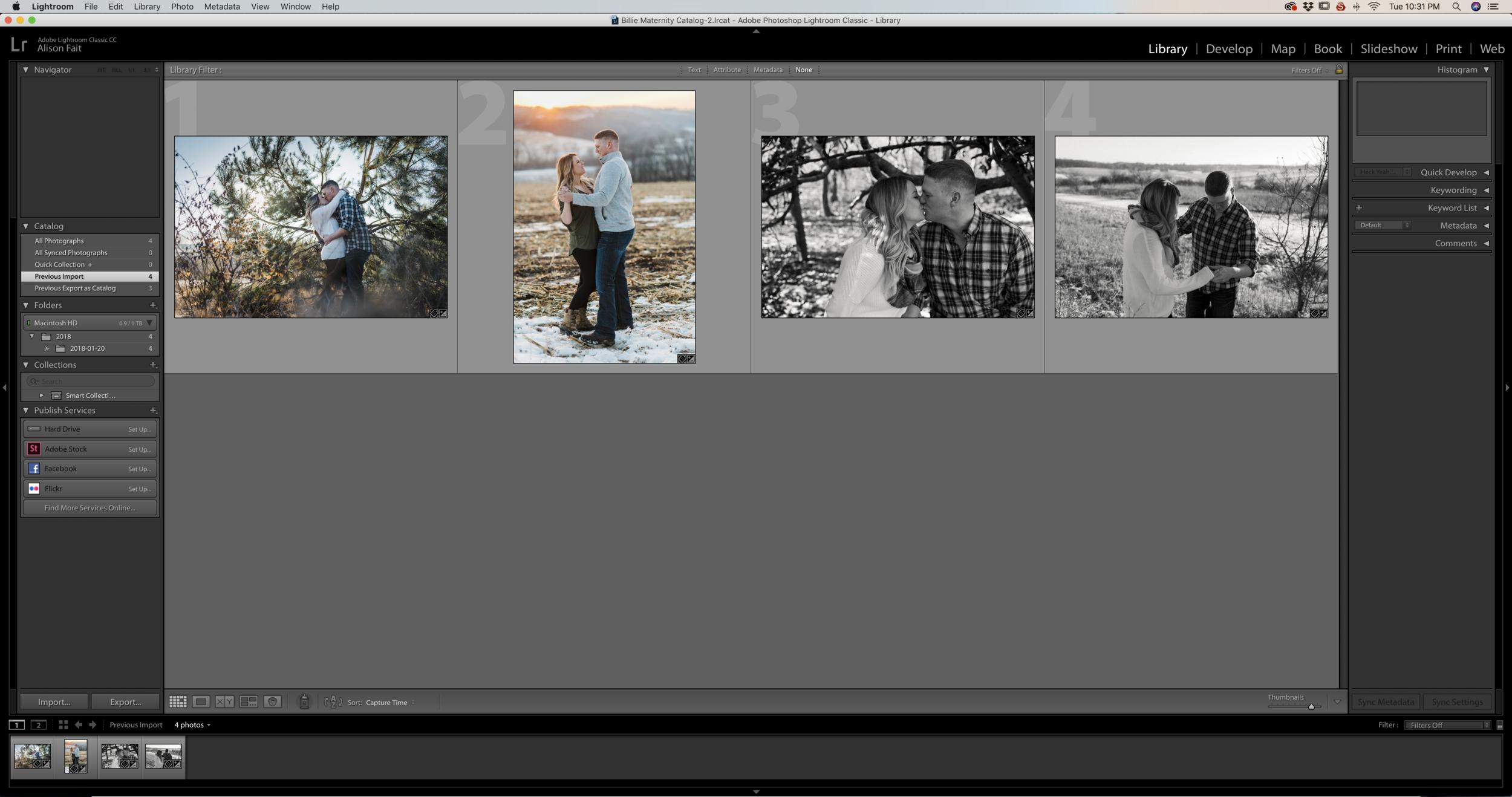Step 1: Import Photos