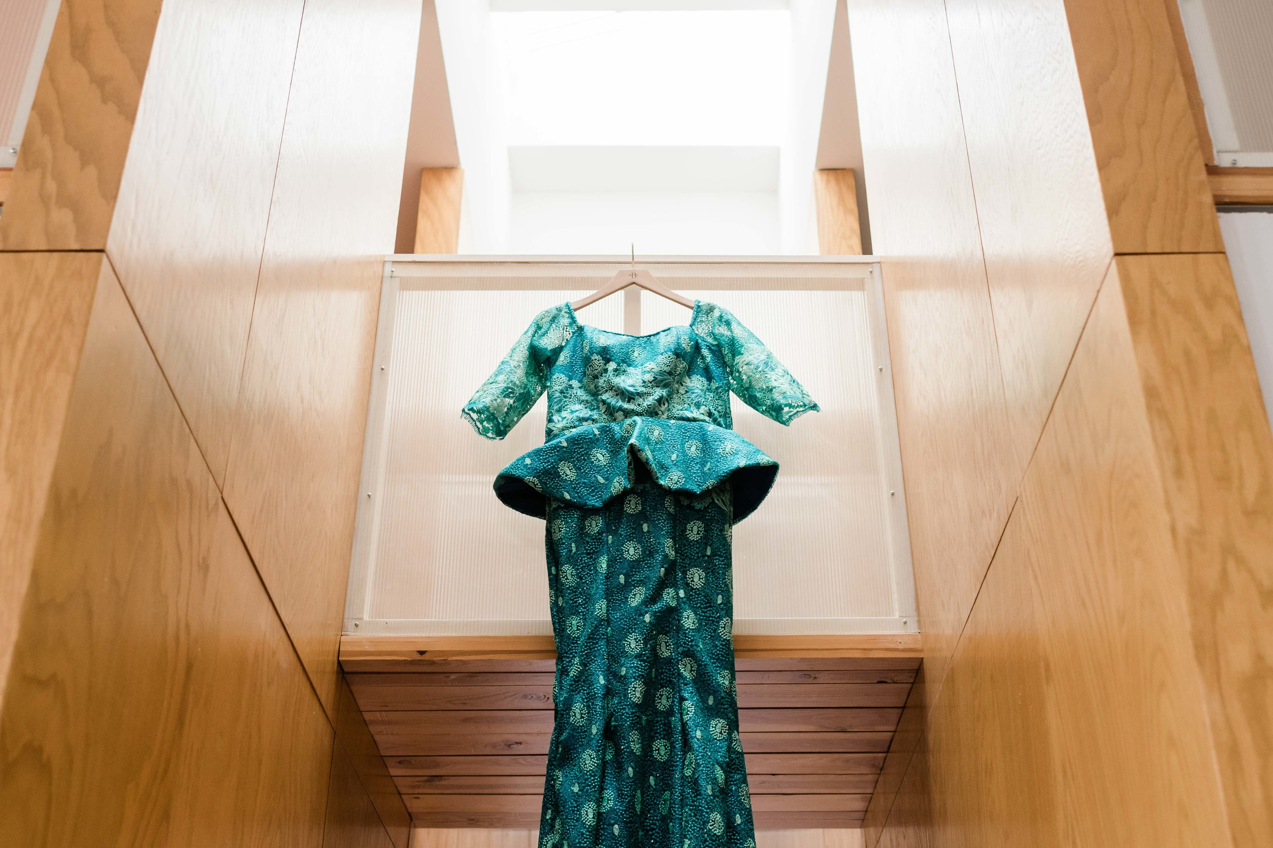 Nigerian wedding gown