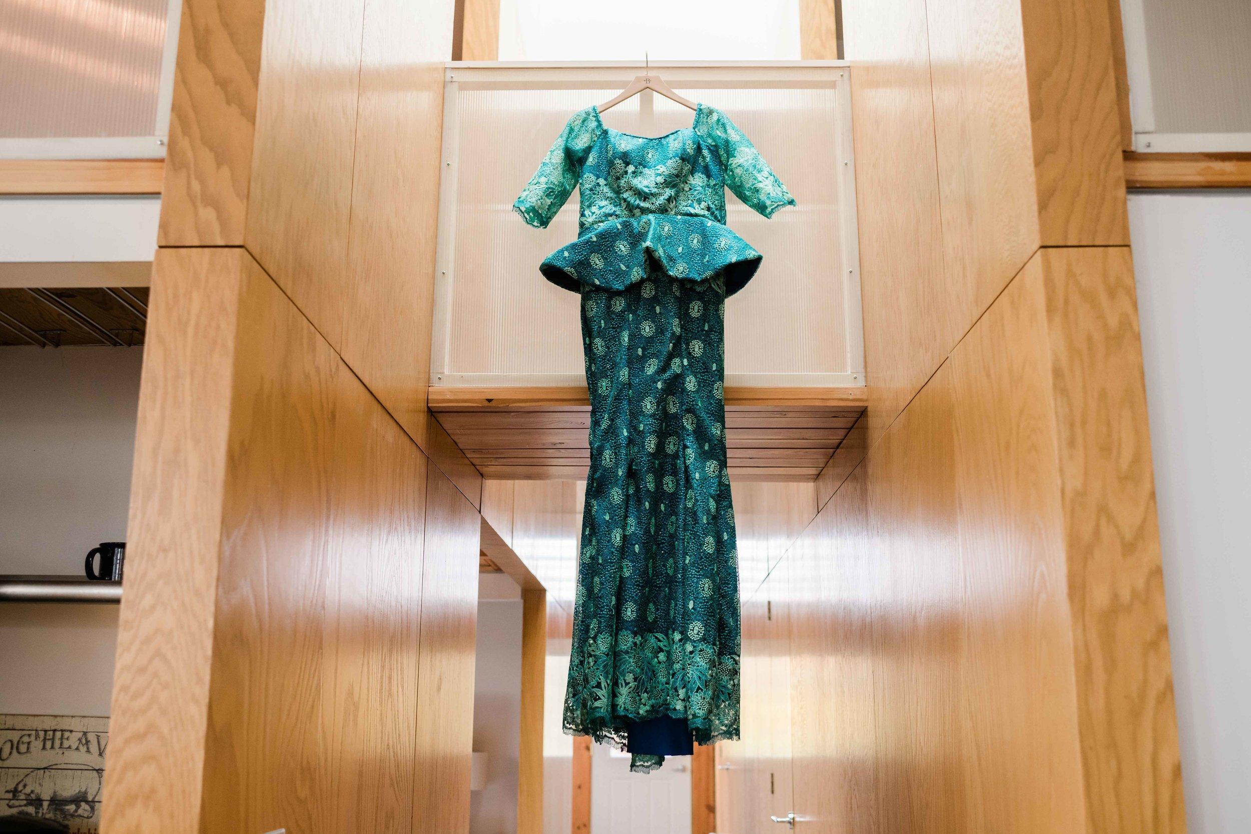 Nigerian bridal gown