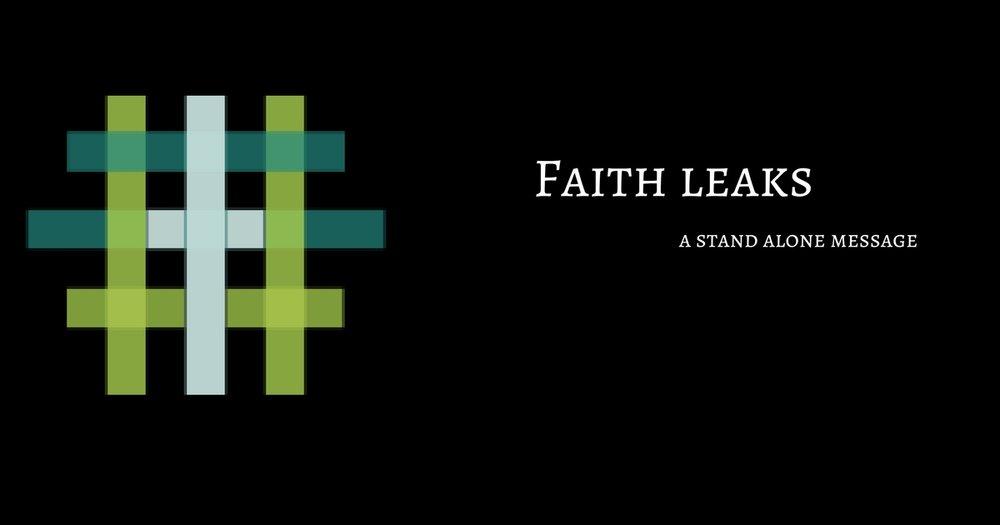 Faith Leaks   Pastor D. M. Gates   July 9th 2017    iTunes    Google Play    Soundcloud