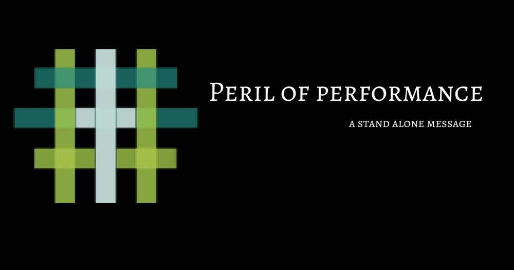 Peril of Performance   Pastor D.M. Gates   July 16th 2017    iTunes    Google Play    Soundcloud