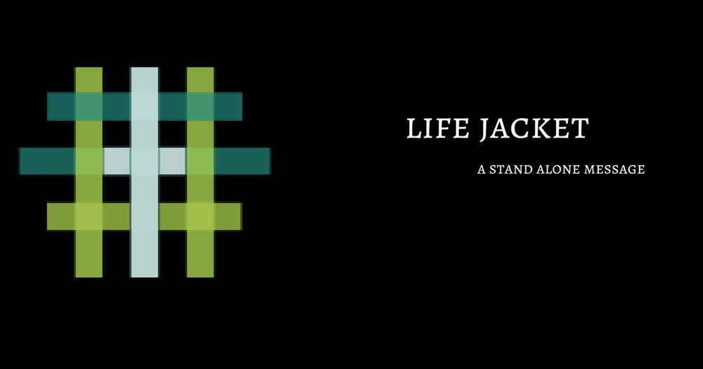 Life Jacket   Pastor D.M. Gates  Have you ever felt like you just weren't keeping up? When was the last time you felt content with your life? Let this message be a life jacket for anyone who has ever felt like life was pulling them under.   July 30th 2017    iTunes    Google Play    Soundcloud