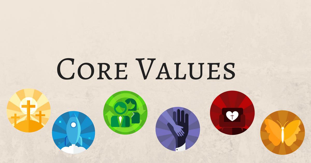 Core Values  - 6 Part Sermon Series  Pastor D.M. Gates   August 2017    iTunes    Google Play    Sound Cloud  (Full Series)