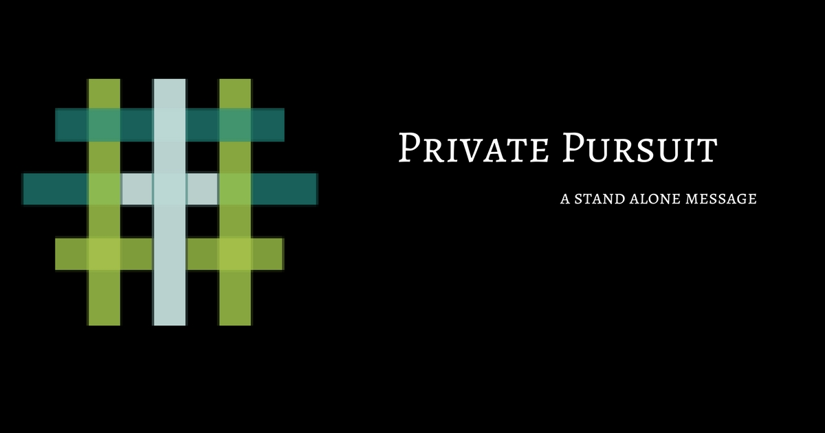 Private Pursuit   We are called to run our race with patience; that means we can have no clock, no clutter, no competition and no choice of the race we've been given. In this message Pastor Gates teaches the importance of our public and private relationship with Jesus and the impact it has on running our race. This is truly an uplifting message!   Acts 1:4-11 KJV Luke 21:37 KJV Hebrews 12:1 KJV   Pastor Gates   September 10th 2017    iTunes    Google Play    Soundcloud