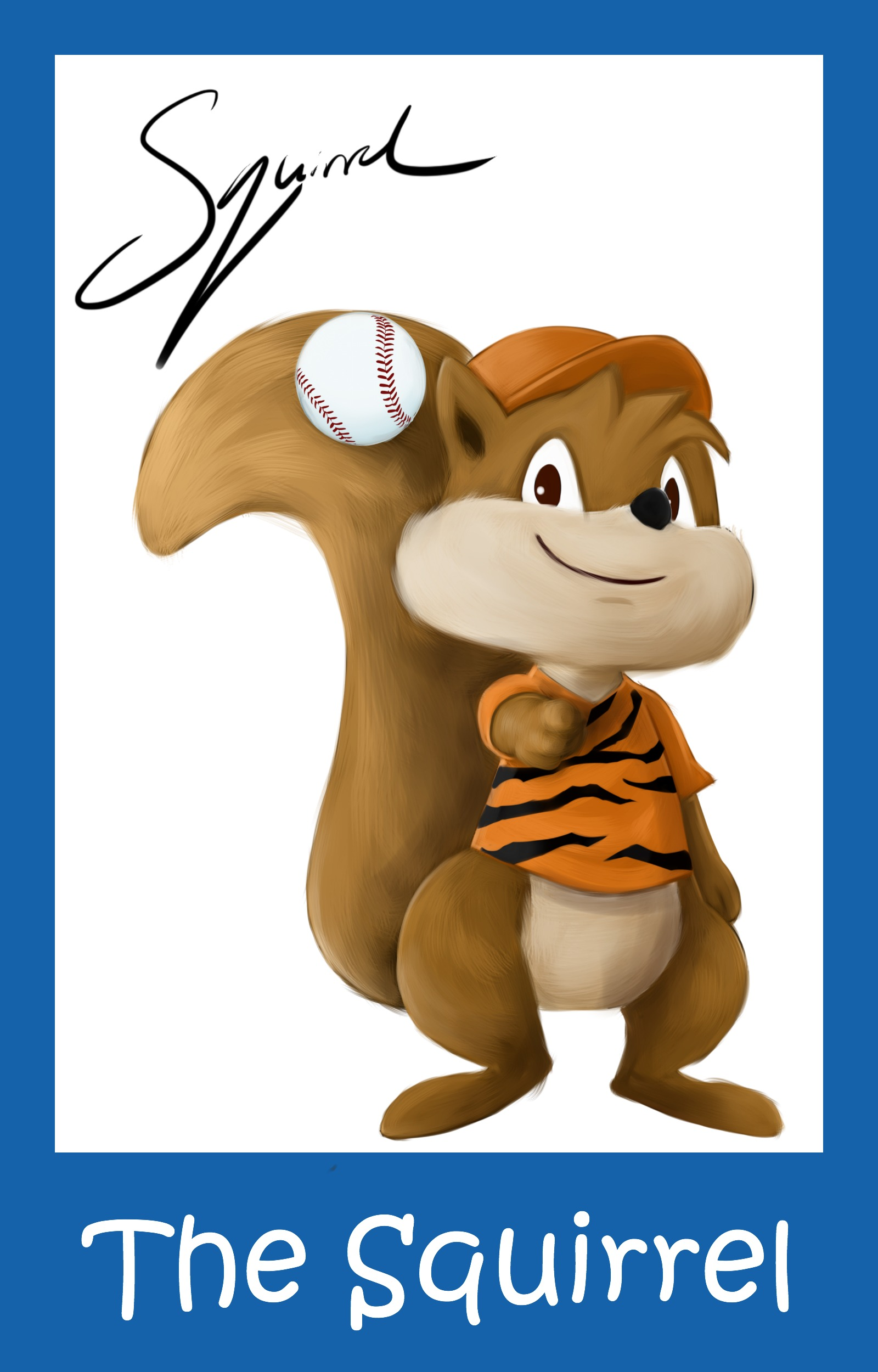 The Squirrel is a dreamer. He wants nothing more than to be the next best pitcher, but he must first overcome not being accepted to realize what it takes to follow his dream...