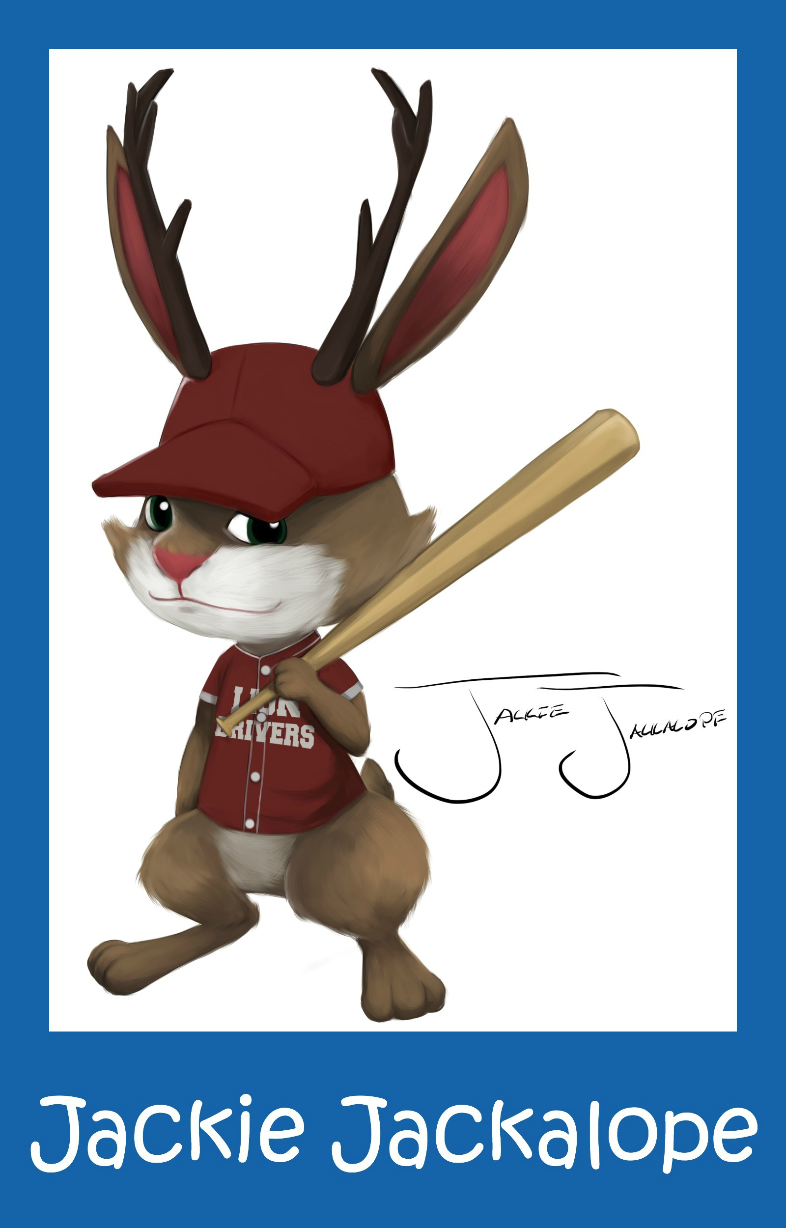 The new hot-shot player on the Lion Drivers, Jackie Jackalope can face any pitcher, but can he take on The Squirrel?