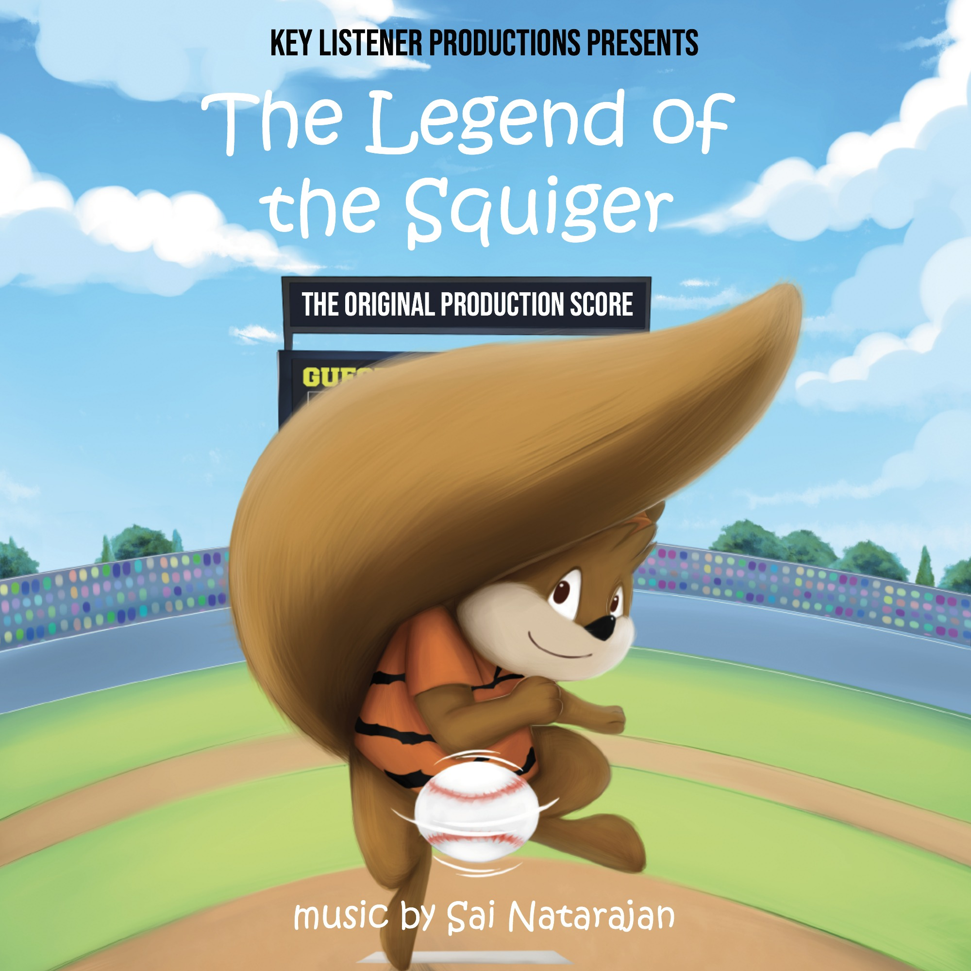 The Legend of the Squiger - Original Score Album Art