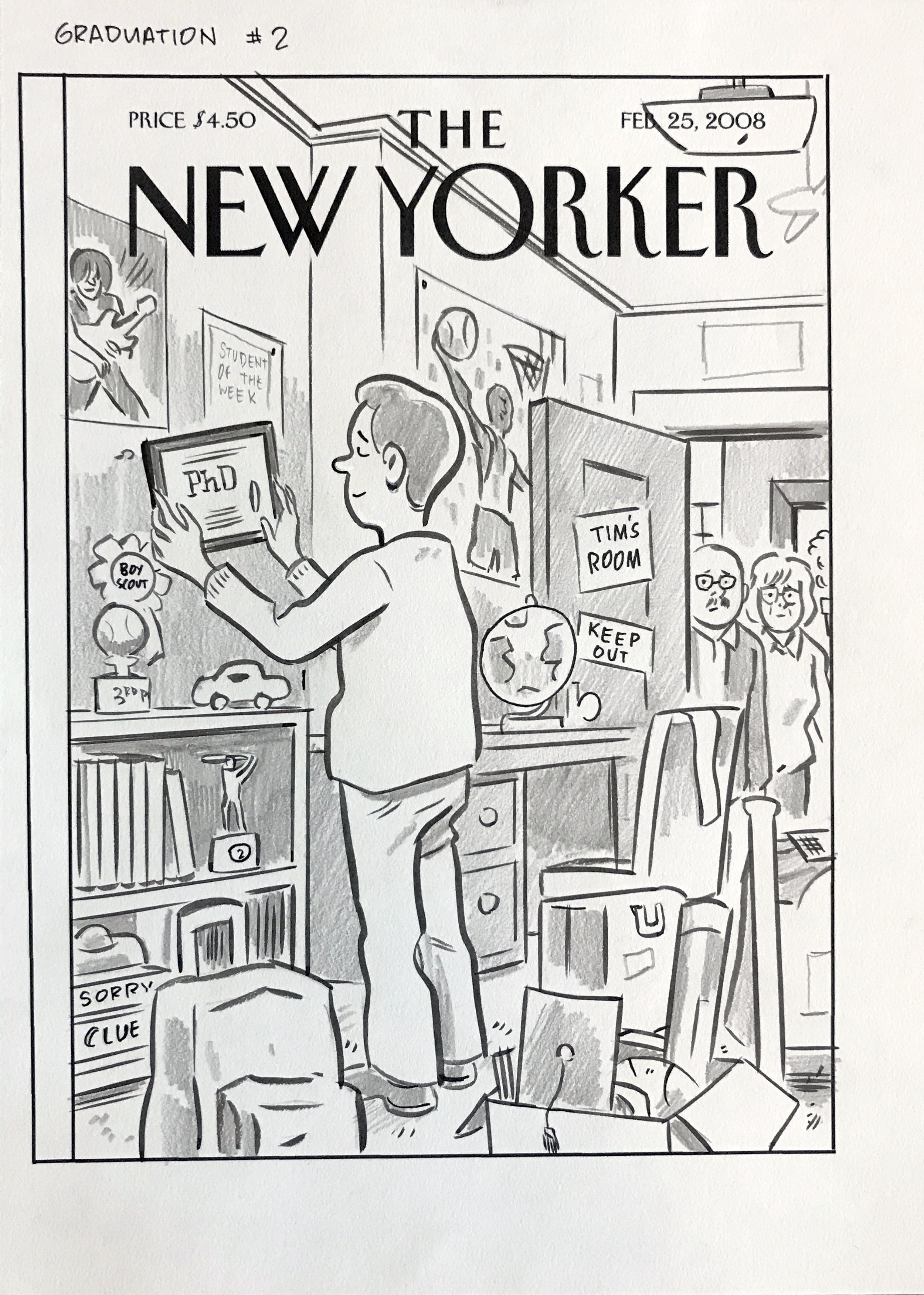 Boomerang Generation New Yorker Cover