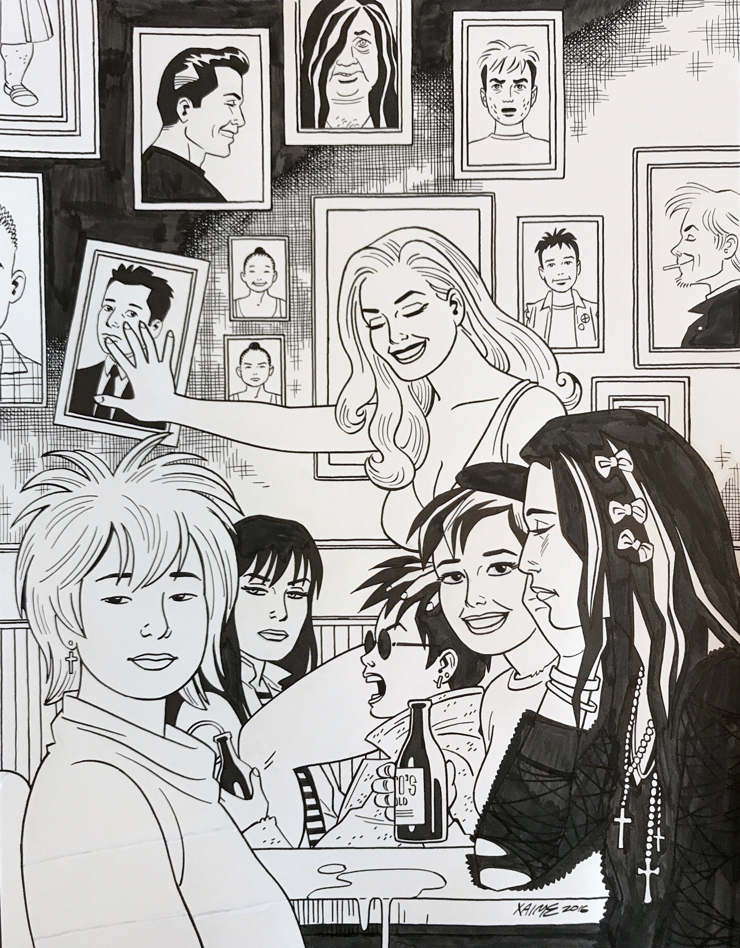 Love and Rockets #1 Cover