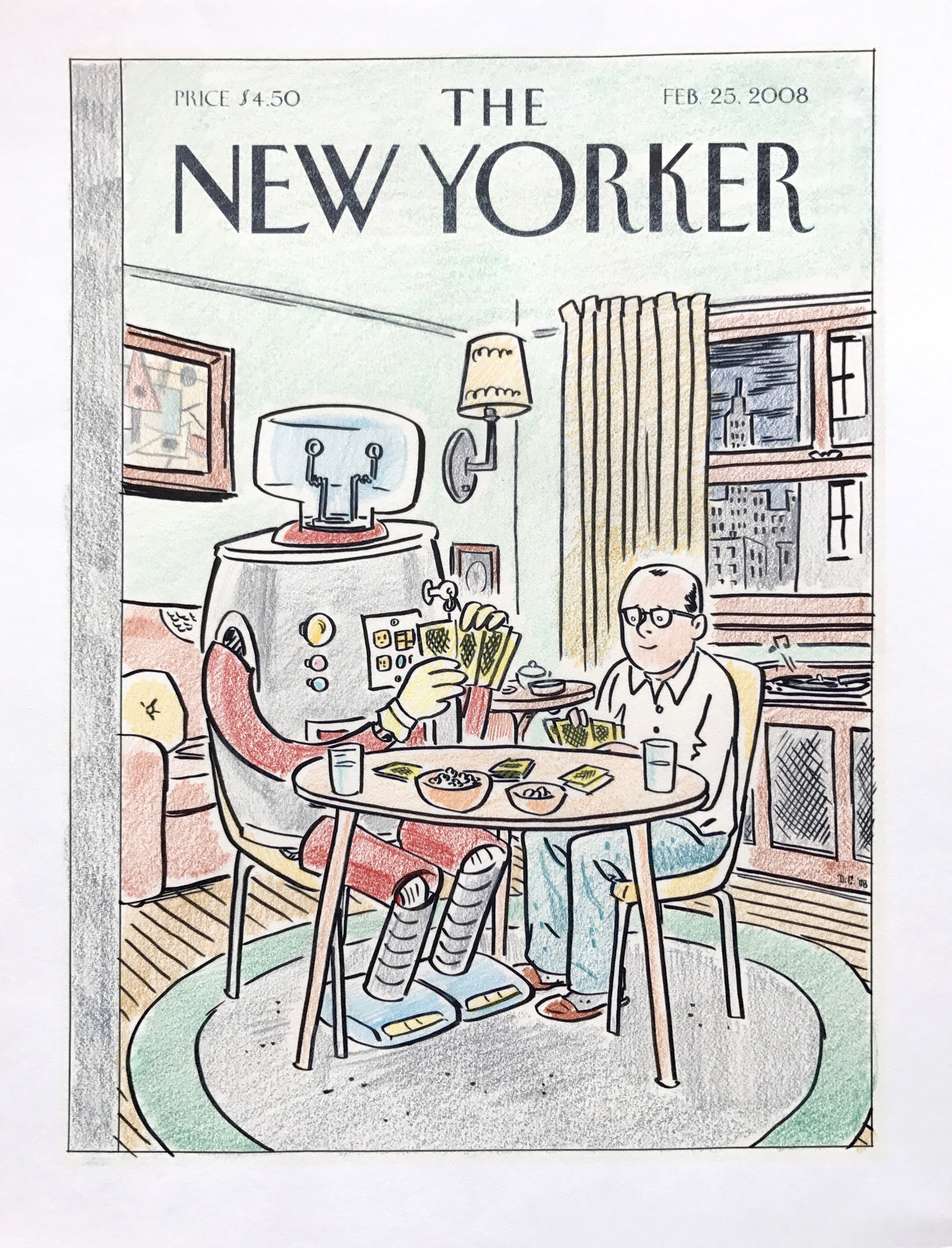 Man's Best Friend New Yorker Cover