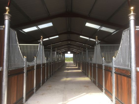 the new Stable block has a heated members room with refreshments. the stables are light, spacious and fully equipped for your pony.