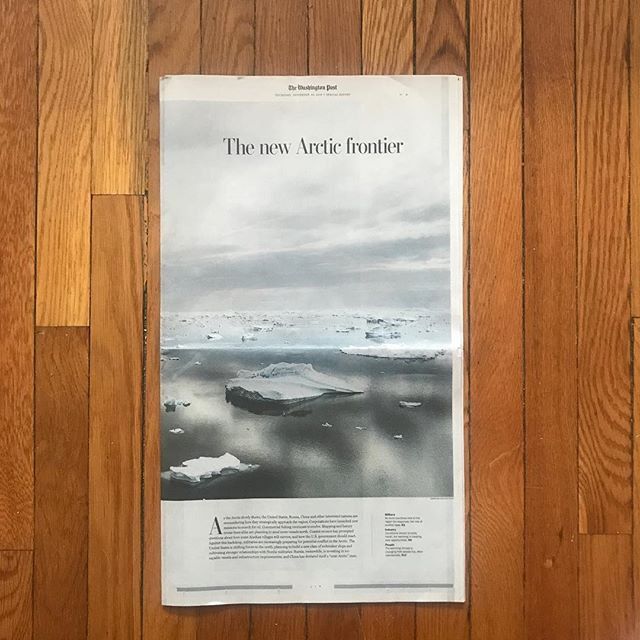 Please take some time this holiday weekend to experience this ambitious piece that explores the evolving arctic where the changing landscape is a backdrop to increased assertiveness from Russia and China, to growing industries, and to communities caught in between. (Link in bio)  Fantastic work from @kadirvanlohuizen and @yuri.kozyrev with support from the @prixcarmignac and a killer story from @danlamothe30. Fortunate to be part of the all star team at the Post who worked hard to pull off this presentation:  Photo editing by Nick Kirkpatrick, @chloecolemanmedia and @maryannegolon. Video editing by @wordsofsarah. Text editing by @tiffanyharness. Additional text by @Adam Mowder and @tiffanyharness. Map by Laris Karklis. Design and development by @jasonbernert and @briandgross. Project managers: Nick Kirkpatrick and @julie_vit.