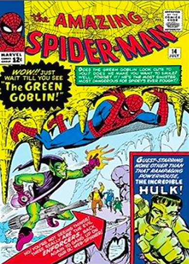 Steve Ditko   Origins: Spider-Man #14   Giclee on Canvas  30 x 20 in.  Edition of 50  Signed by Stan Lee