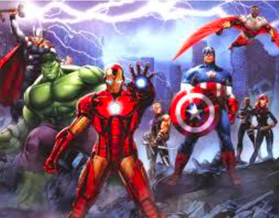 Marvel Studios Team   Defenders   Giclee on Paper  22 x 14.5 in.  Edition of 100  Signed by Stan Lee