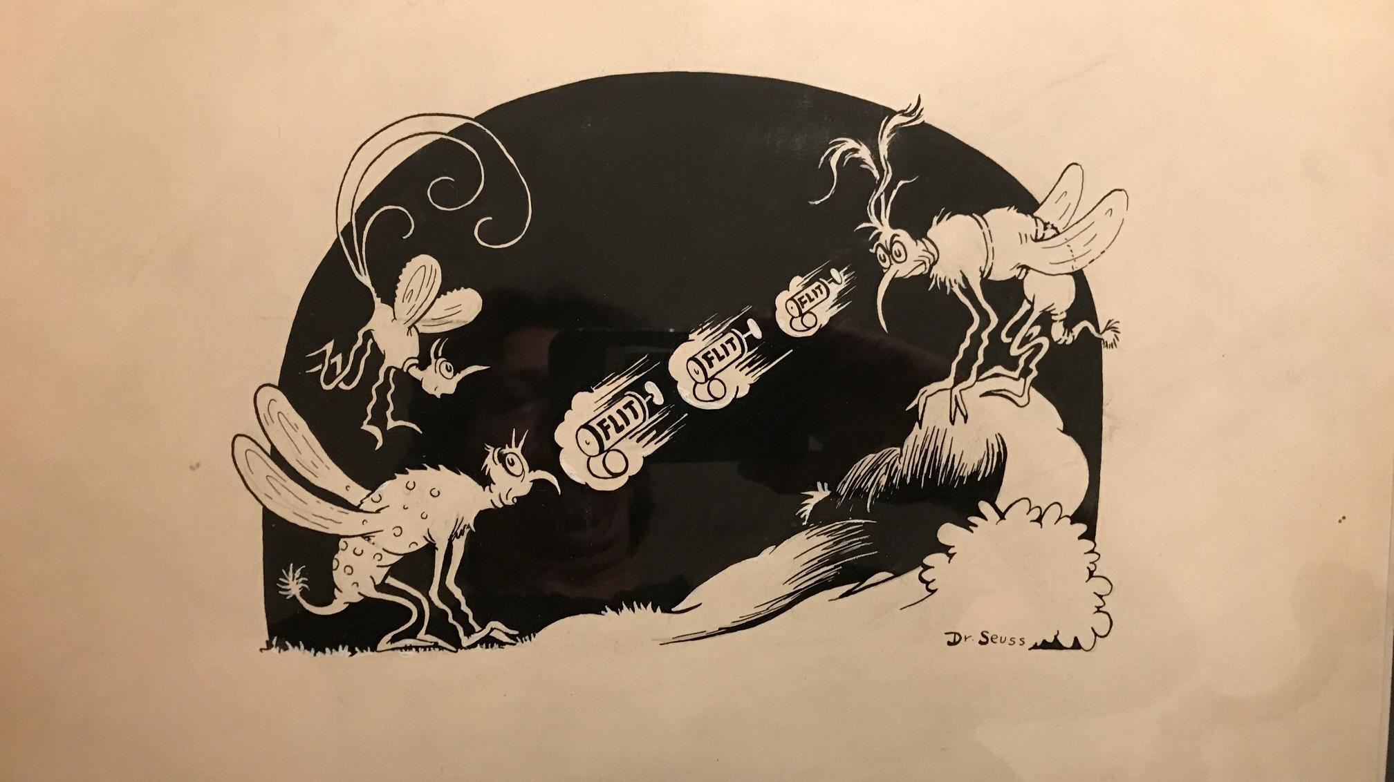 Dr. Seuss (Theodor Geisel)   Flit   10.5 x 15.5 in.