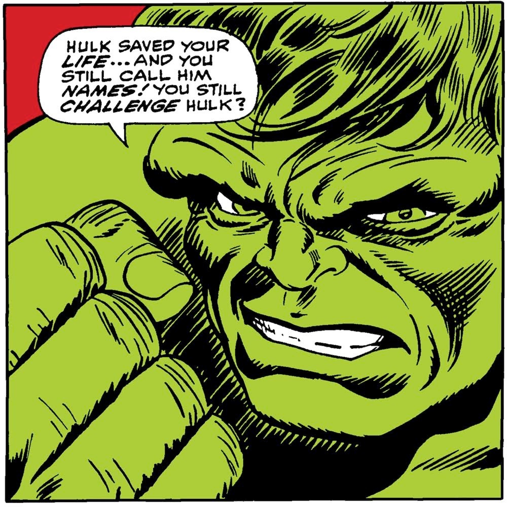 Lichten-Stan Hulk   Giclee on Canvas  26 x 26 in.  *Signed by Stan Lee and Lou Ferrigno