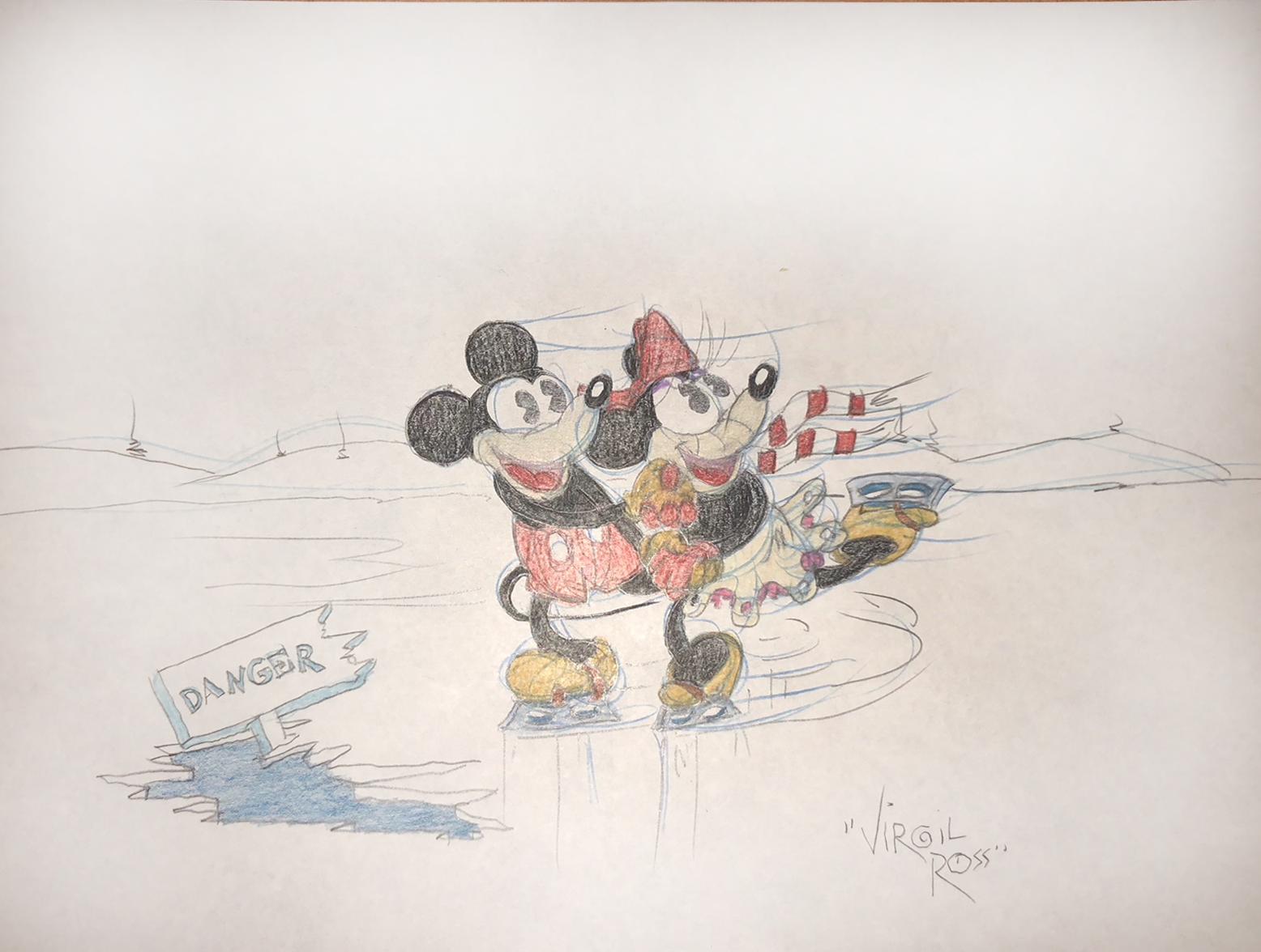 "Mickey and Minnie ""Love"""