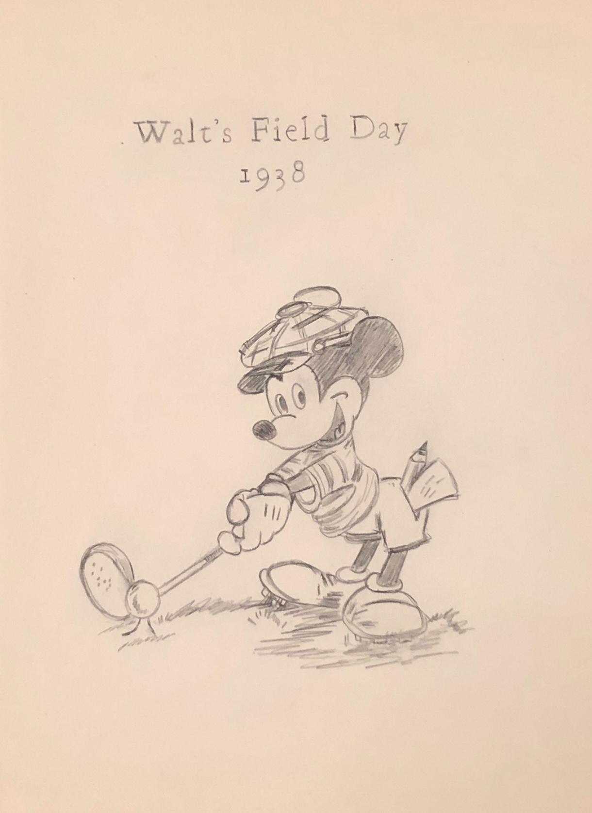 "Mickey Mouse: ""Walt's Field Day"""