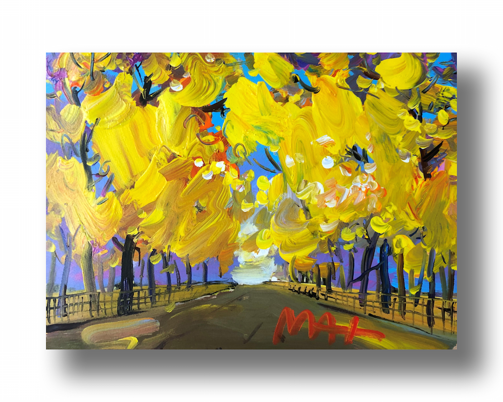"""Four Seasons II: Autumn (Central Park)"""