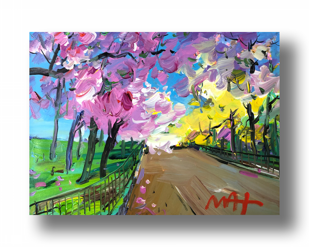 """Four Seasons II: Spring (Central Park)"""