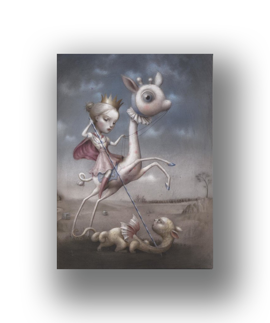 The Princess and the Prey   2012  Archival Pigment Ink on Paper  23.25 x 17.25 in.  Edition of 100