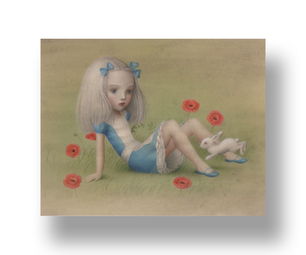 Almost Alice   2015  Archival Pigment Ink on Paper  10.5 x 8.25 in.  Edition of 250