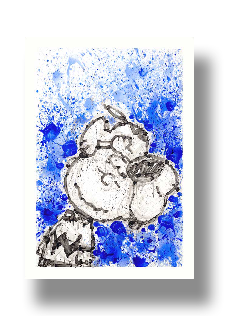 Hipster Dog Dreams   2015  Giclee and Silkscreen on Paper  42 x 28.5 in.  Edition of 295  ** SOLD OUT AT PUBLISHER