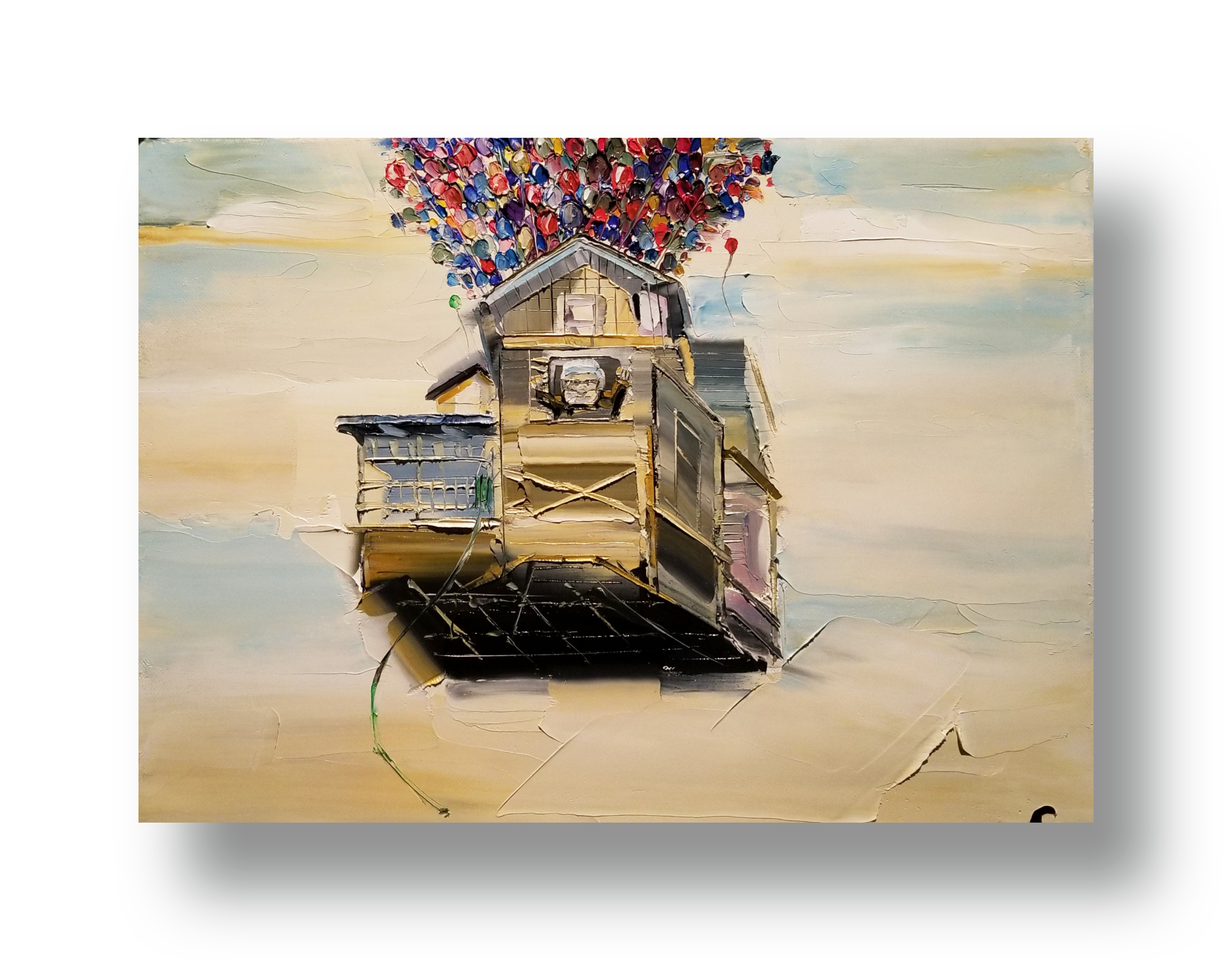 Chuck Joseph  Palette Knife on Canvas   INQUIRE