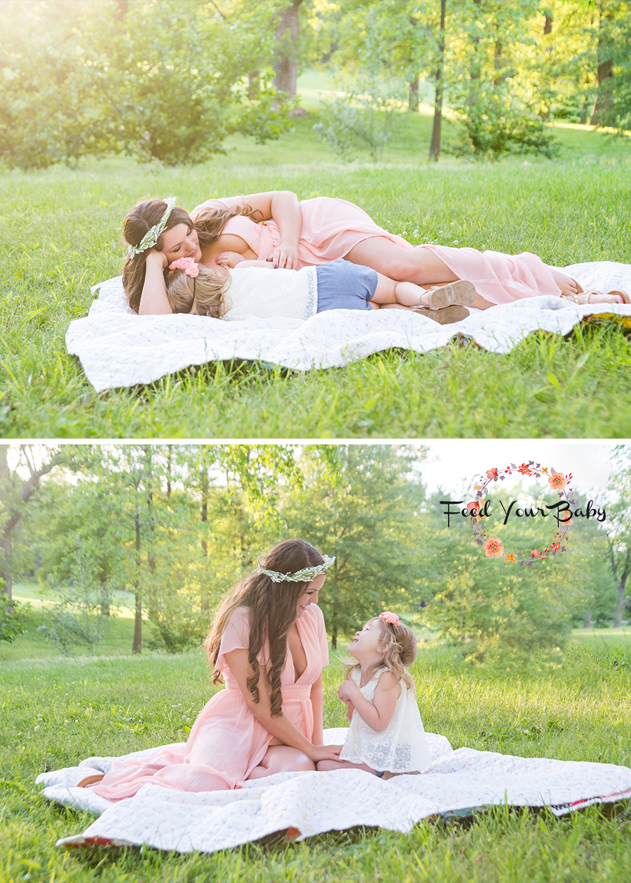 st-louis-baby-photographer-four-fireflies-photography-feed-your-baby-breastfeeding-and-bottle-feeding-mommy-and-me-session-mom-nursing-toddler-and-looking-at-each-other-side-by-side.jpg