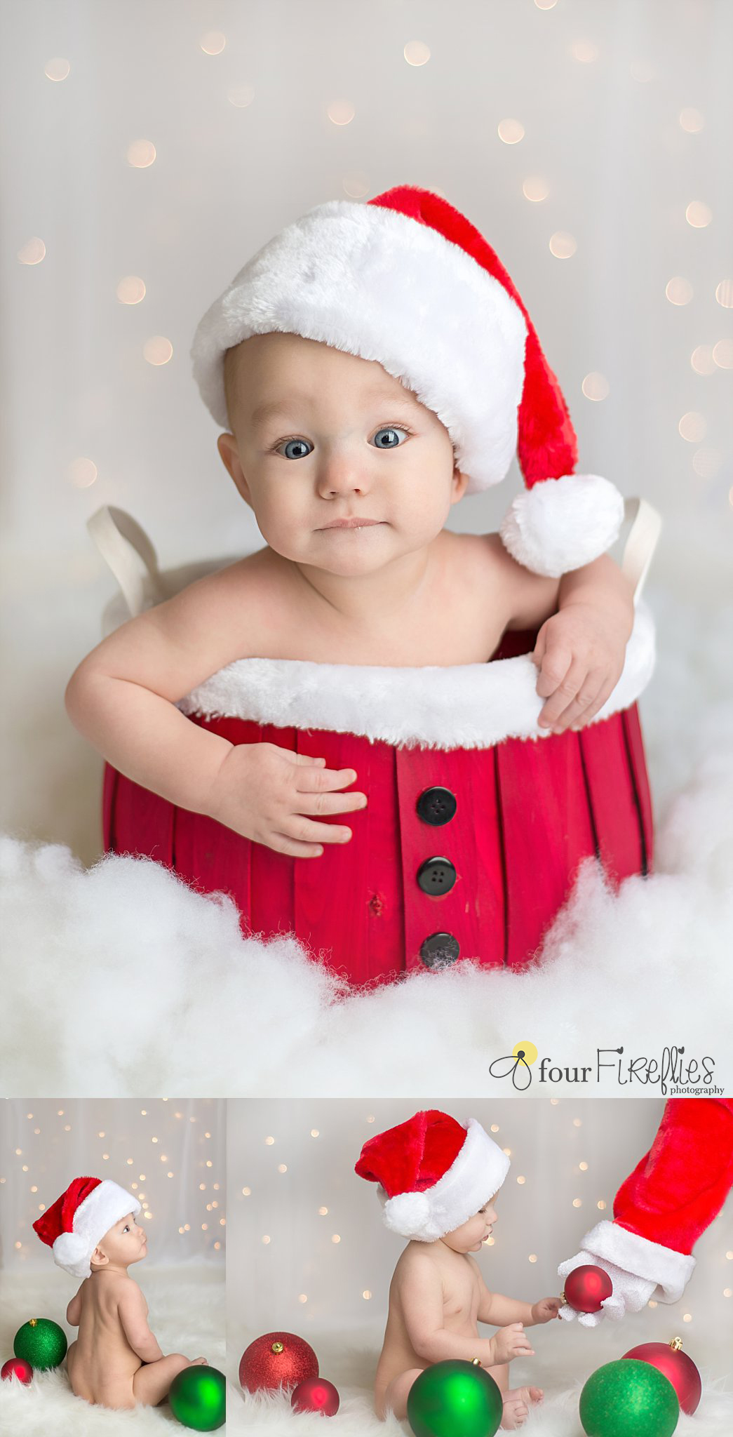 st-louis-baby-photographer-christmas-6-month-boy-in-santa-basket-and-santa-hand-with-bokeh-background.jpg