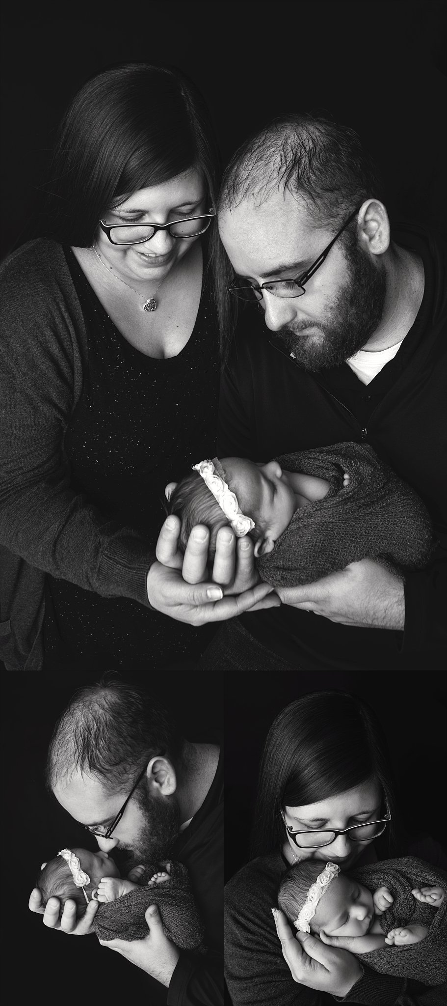 st-louis-newborn-photographer-baby-girl-with-mom-and-dad-blcak-and-white-collage.jpg