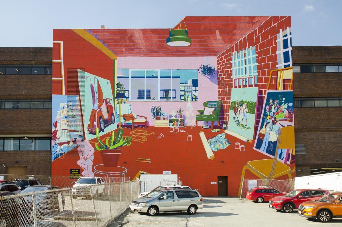 ANDY DIXON | Vancouver Studio (After Matisse)