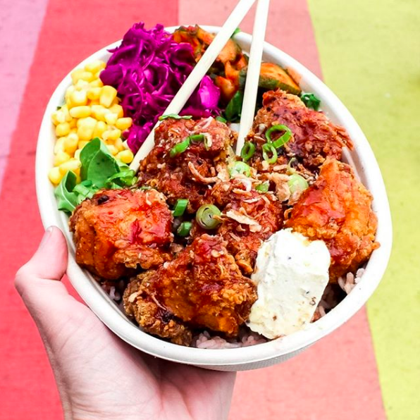 DISCO CHEETAH  @discocheetahyvr  Bringing flavours born in the streets of Korea's edgy, funky, diverse capital, Disco Cheetah is a favourite of the VMF team, bringing authentic, creative Korean food to Vancouver. These dishes are bright and beautiful, they deserve to be eaten.